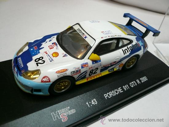 HIGH SPEED PORSCHE 911 GT3 2000 (Juguetes - Coches a Escala 1:43 Otras Marcas)