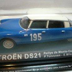 ALTAYA RALLY CITROEN DS21 MONTECARLO 1966 @