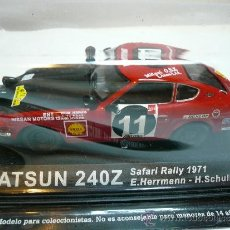 Coches a escala: ALTAYA RALLY DATSUN 240Z SAFARI RALLY 1971 @. Lote 32347849
