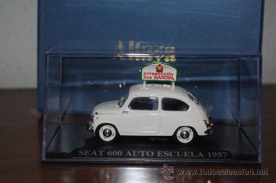 SEAT 600 AUTO ESCUELA 1957 ALTAYA, 1:43 NUEVO, RAREZA, REGALO SUSCRIPTORES (Juguetes - Coches a Escala 1:43 Otras Marcas)