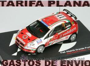 Rallye Portugal 2008 AL 2008-P-11 Fontes 1:43 Fiat Abarth Grande Punto S2000
