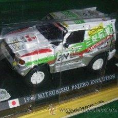 Coches a escala: LOTE - COCHE DE METAL - MITSUBISHI PAJERO EVOLUTION 1998 - ESC 1/43. Lote 34853922