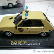 Coches a escala: SEAT RITMO 75 CL POLICIA NACIONAL 1981. Lote 35074358