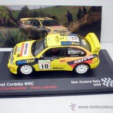 Coches a escala: COCHE SEAT CORDOBA WRC 1:43 IXO SPORT RALLYE RALLY NEW ZEALAND 1999 GARDEMEISTER. Lote 147752568
