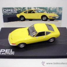 Auto in scala: 1/43 COCHE OPEL GT COLLECTION METAL MODEL CAR ALTAYA MINIATURA GERMANY. Lote 225741920