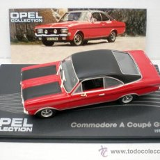 Coches a escala: 1/43 COCHE OPEL COMMODORE A COUPE GS/E COLLECTION METAL MODEL CAR ALTAYA. Lote 143545148