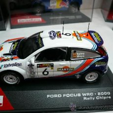 Coches a escala: FORD FOCUS WRC ALTAYA RALLY CARLOS SAINZ RALLY CHIPRE 2000. Lote 31738746