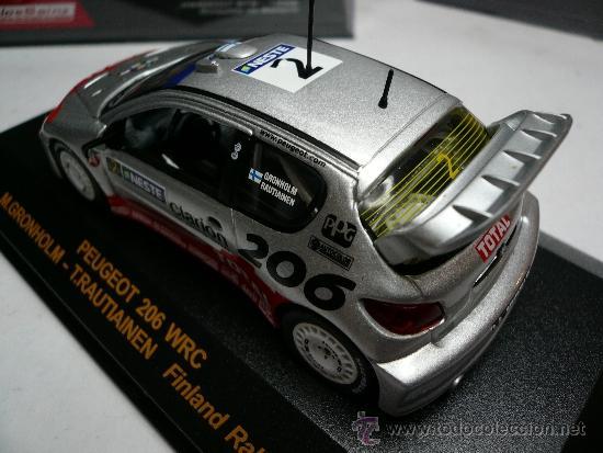 Coches a escala: ALTAYA PEUGEOT 206 WRC RALLY DE FINLANDIA 2002 @ - Foto 4 - 32279635