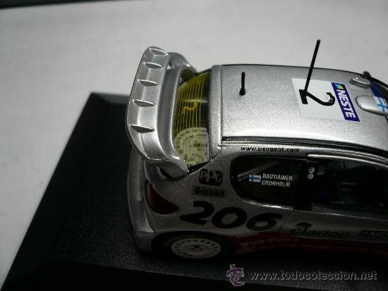 Coches a escala: ALTAYA PEUGEOT 206 WRC RALLY DE FINLANDIA 2002 @ - Foto 7 - 32279635