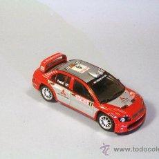 Coches a escala: IXO-ALTAYA 1:43 MITSUBISHI LANCER WRC #9 PANIZZI-PANIZZI MONTE CARLO 2004. Lote 35670203