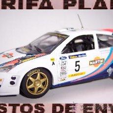 Coches a escala: FORD FOCUS WRC MODIFICADO DEFECTO PEQUEÑA FISURA EN ESCALA 1:43 DE HIGH SPEED EN CAJA NO ORIGINAL. Lote 35701887