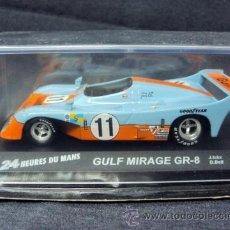 Coches a escala - 24 horas de Le Mans, 1:43, GULF MIRAGE GR-8, Ickx + Bell, 1975 - 36598988