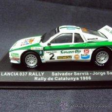 Model Cars - WRC 1:43, LANCIA 037 RALLY, Rally de Catalunya 1986, Salvador Serviá + Jorge Sabater - 36600530