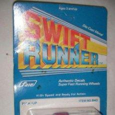 Coches a escala: ANTIGUA PICK UP SWIFT RUNNER EN SU BLISTER NUEVO SIN USAR (4.2). Lote 36834454