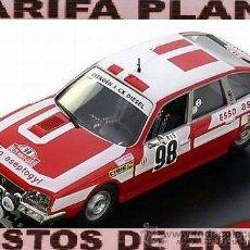 Model Cars - CITROEN CX DIESEL RALLYE DE MONTECARLO 1978 C.DACREMONT - GANAELLE ESCALA 1:43 DE ALTAYA EN SU CAJA - 49492549