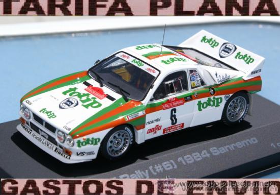 lancia 037 rally rallye sanremo 1984 m.biasion - kaufen modellautos