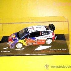 Coches a escala: CITROËN C4 WRC - 2009 - RALLY PORTUGAL - SÉBASTIEN LOEB - DANIEL ELENA COCHE MINIATURA 1:43. Lote 38329641