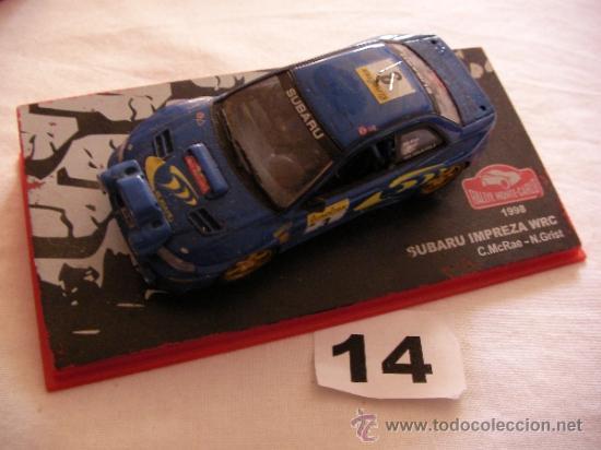 RALLY MONTE-CARLO SUBARU IMPREZA WRC (1998) - ENVIO GRATIS A ESPAÑA (Juguetes - Coches a Escala 1:43 Otras Marcas)