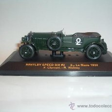 Coches a escala: BENTLEY SPEED SIX , LE MANS 1930 , 1/43 IXO MODELS, REF.LMC081.. Lote 38724809