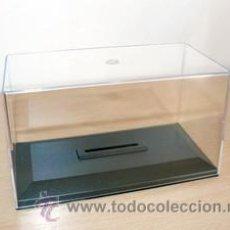 Model Cars - CAJA URNA para COCHES 1/43 IXO SOLIDO ALTAYA SLOT CARS Plastic Case TAPA ALTA - 141846380