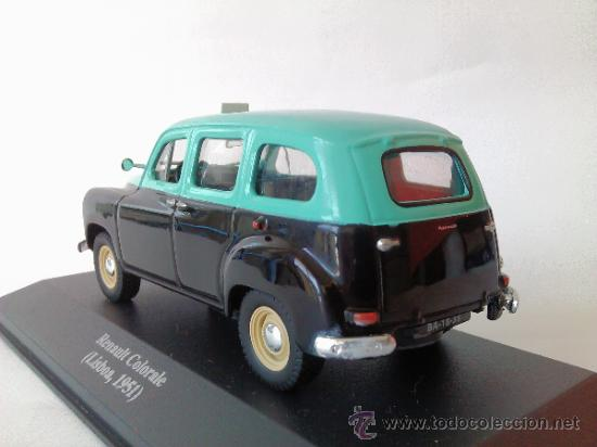 RENAULT COLORALE TAXI CAB 1:43 LISBOA LISBON PORTUGAL-1947
