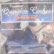Voitures à l'échelle: SEAT FURA CRONO - 1982 - NUESTROS QUERIDOS COCHES - ALTAYA - NUEVO - CON SU FASCÍCULO.. Lote 38973464