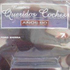 Voitures à l'échelle: FORD SIERRA RS COSWORTH - 1987 - NUESTROS QUERIDOS COCHES - ALTAYA - NUEVO - CON SU FASCÍCULO.. Lote 38973578