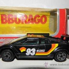 Coches a escala: BURAGO LAMBORGHINI COUNTACH 5000 S REF 4127 CON CAJA ORIGINAL . Lote 38973807