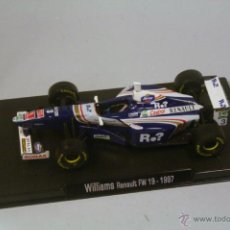 Coches a escala: RBA WILLIAMS RENAULT FW19 1997 #3 JACQUES VILLENEUVE. Lote 39385077