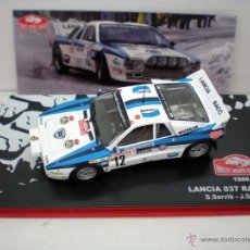 Model Cars - 1/43 COCHE LANCIA 037 RALLY MONTECARLO SERVIA SABATER METAL CAR IXO 1986 RALLIE - 83168686