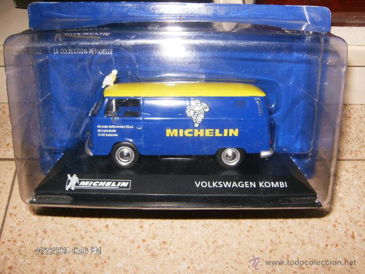 Michelin Volkswagen Kombi van 1:43 Escala