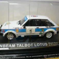 Coches a escala - SUNBEAM TALBOT LOTUS ALTAYA RALLY - 31164794