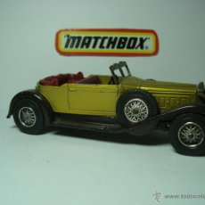 Coches a escala: PACKARD VICTORIA MATCHBOX MODELS OF YESTERYEAR. Lote 40004787
