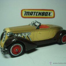 Coches a escala: AUBURN SUPERCHARGED MATCHBOX MODELS OF YESTERYEAR. Lote 40004984