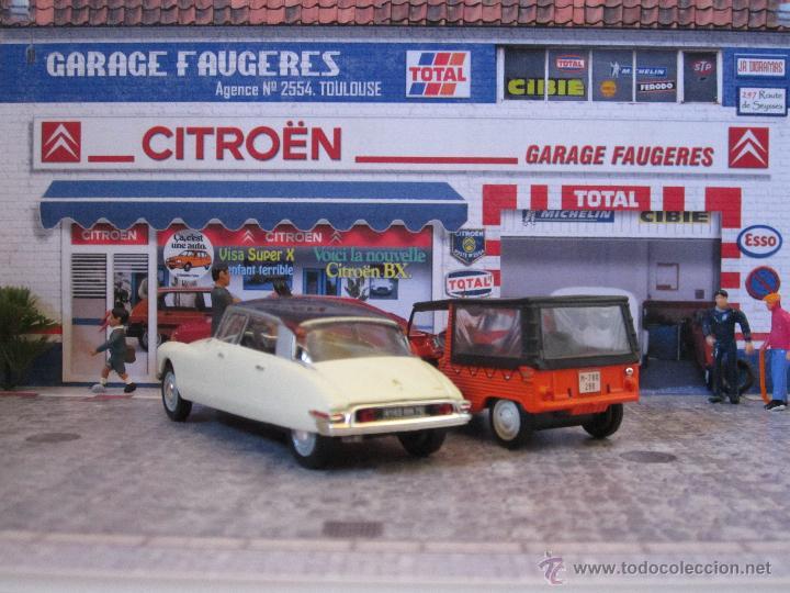 Garage citroen 95 services argenteuil pinay sur seine saint gratien garage citro n la grande - Garage miniature citroen ...
