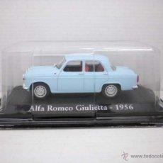 Coches a escala: COCHE ALFA ROMEO GIULIETTA 1956 1:43 METAL CAR SEAT MINIATURA ITALIA ITALY. Lote 178748141