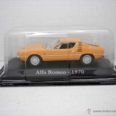 Coches a escala: COCHE ALFA ROMEO 1970 1:43 METAL CAR SEAT MINIATURA ITALIA ITALY. Lote 195448406