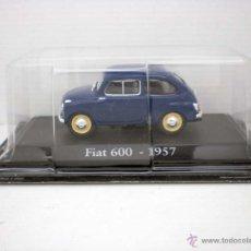Coches a escala: COCHE FIAT 600 AZUL OSCURO 1957 1/43 1:43 METAL CAR SEAT MINIATURA RBA ALFREEDOM. Lote 165972636