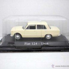 Coches a escala: COCHE FIAT 124 MARRON CLARO 1/43 1:43 METAL CAR SEAT MINIATURA ALFREEDOM DIECAST. Lote 173407815