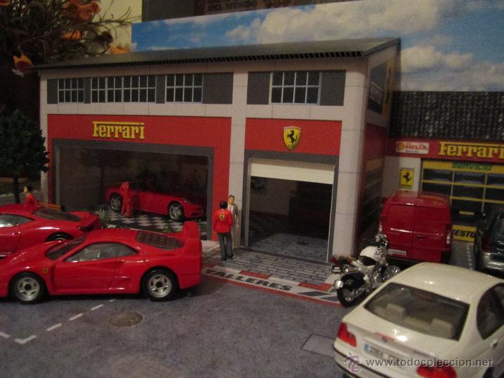 Coches a escala: Maqueta para exponer Ferraris 1:43. . . . Jr Dioramas. - Foto 2 - 40390395