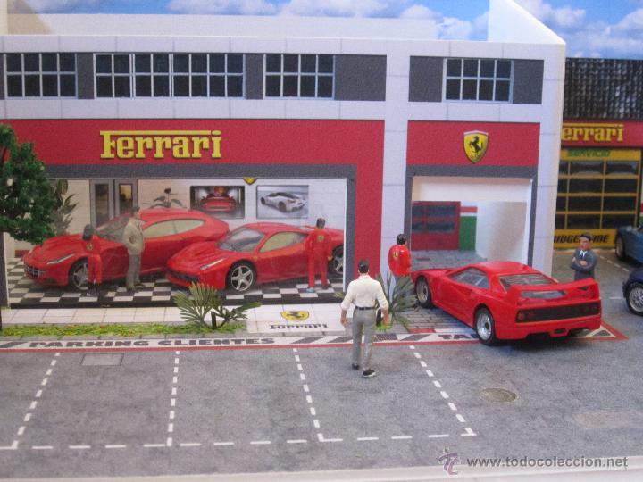 Coches a escala: Maqueta para exponer Ferraris 1:43. . . . Jr Dioramas. - Foto 3 - 40390395