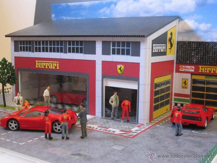 Coches a escala: Maqueta para exponer Ferraris 1:43. . . . Jr Dioramas. - Foto 4 - 40390395