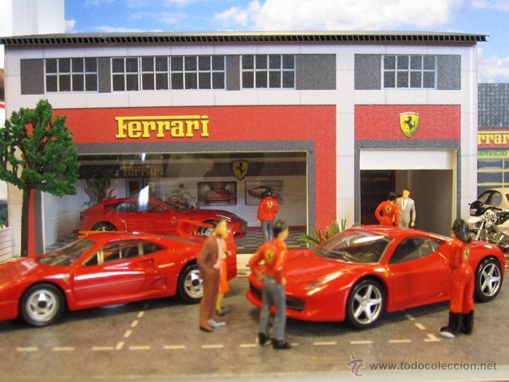 Coches a escala: Maqueta para exponer Ferraris 1:43. . . . Jr Dioramas. - Foto 5 - 40390395