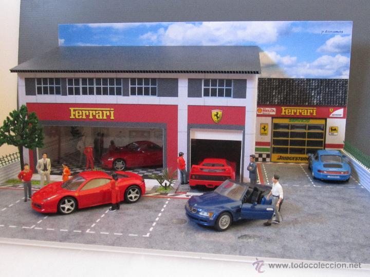 Coches a escala: Maqueta para exponer Ferraris 1:43. . . . Jr Dioramas. - Foto 6 - 40390395