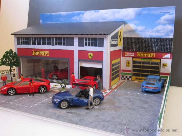 Coches a escala: Maqueta para exponer Ferraris 1:43. . . . Jr Dioramas. - Foto 7 - 40390395