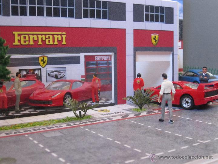 Coches a escala: Maqueta para exponer Ferraris 1:43. . . . Jr Dioramas. - Foto 8 - 40390395