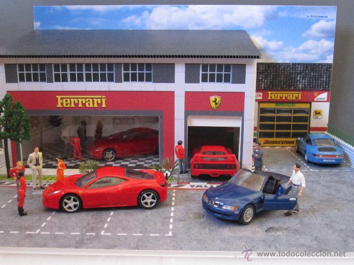 Coches a escala: Maqueta para exponer Ferraris 1:43. . . . Jr Dioramas. - Foto 9 - 40390395