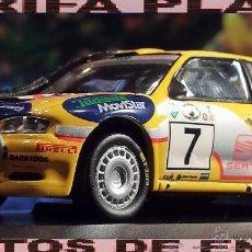 Coches a escala: SEAT CORDOBA WRC RALLY SAFARI 2000 D.AURIOL-D.GIRAUDET ESCALA 1:43 DE ALTAYA EN CAJA NO ORIGINAL. Lote 41243168
