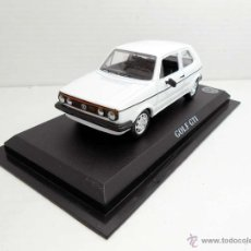 Coches a escala: COCHE 1/43 VOLKSWAGEN GOLF GTI VW COLOR BLANCO SOLIDO METAL ESCALA 1:43 DIECAST MODEL CAR. Lote 181412731