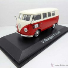 Coches a escala: 1/43 FURGONETA VOLKSWAGEN VW T1 KOMBI NOREV HIPPY METAL MODEL CAR DIECAST 1:43 ALFREEDOM. Lote 159557996